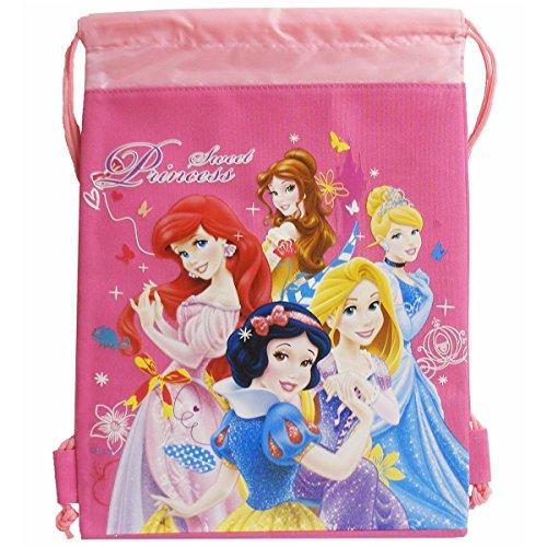 Hot Disney Princesses (Disney Sweet Princess Hot Pink Drawstring Bag)