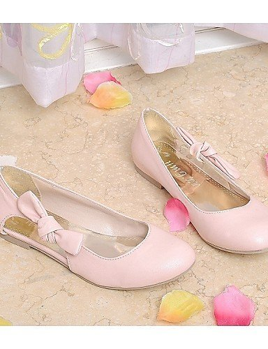 ShangYi Womens Shoes Heel Round Toe Sandals / Flats Outdoor / Athletic / Casual Pink / Beige/98-8 Pink