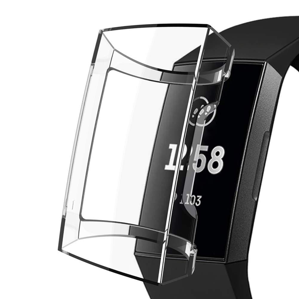 Funda Para Reloj Fitbit Charge 3 Y 3 Se (transparente)