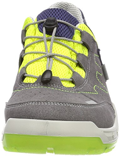 Ricosta Herren Thorben Sneaker Grau (Grafit/Neongelb)