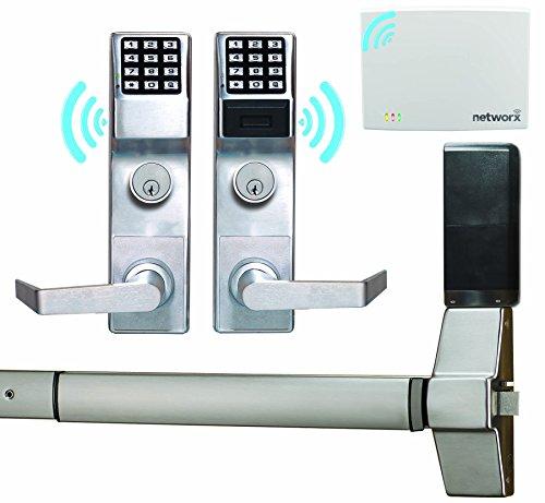 Alarm Lock Trilogy Networx Exit Trim by Alarm Lock