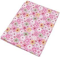 7 piezas 49cm * 49cm tela de algodón rosado para patchwork,telas para hacer patchwork, telas tilda, retales de telas, tela algodon por metros
