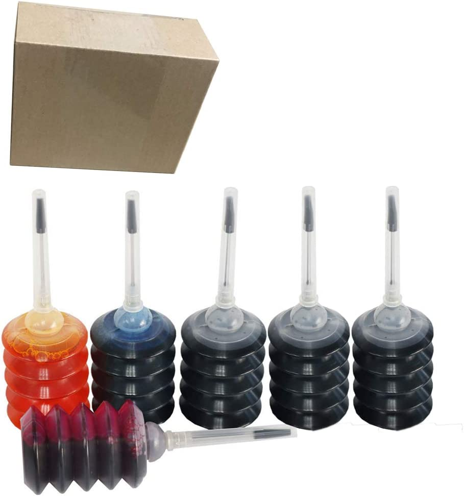 ZL 6PK 3BK 1CMY Ink Refill kit for HP 950 951 932 933 60 61 952 902 901 62 63 21 22 920 940 934 564 711 970 971 94 95 96 Ink Cartridges