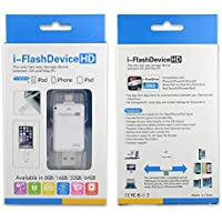 OKCSC(TM) Lightning Data U Disk 8G/16GB/32g/64G USB Lightning i-FlashDriver HD U Disk Memory Card Reader Adapter For iphone ipod ipad/ OTG Micro Enabled Android Phones (16GB)