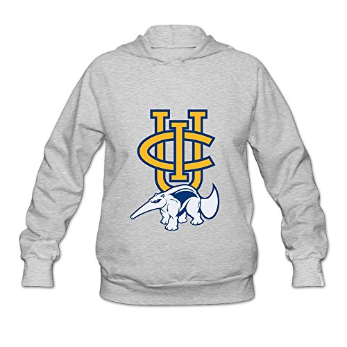 University Of California Irvine Uci Logo Cool Hoodie Design For Women Ash M]()