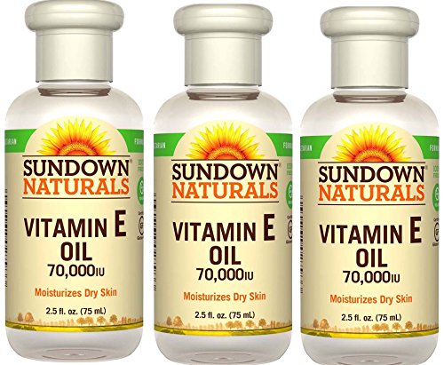 Sundown Naturals Vitamin E Oil 2.50 oz (Pack of 3)