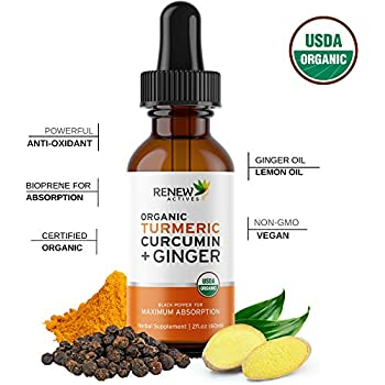 Amazon.com: Turmeric Ease - Liquid Turmeric Curcumin with ...