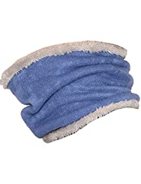 Sharemily home Warm Winter Neck Warmer Heat Trapping Thermal Neck Gaiters Scarf (Royal blue)