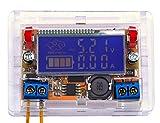 portable voltage regulator - Yeeco Adjustable DC DC Buck Converter Voltage Regulator Step Down Power Supply Ammeter Voltmeter Volt Amp DC5-23V to 0-16.5V 5V 20V 23V 3A with Transparent Shell