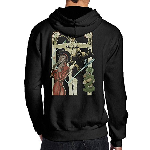 The Lost Boys David Costume (SBPZEB Iron Fist Misty Knight Poster Sport Men's Hoodie M Black)