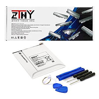 "ZTHY EB-BT355ABE Tablet Replacement Battery for Samsung Galaxy TAB A 8"" SM-T350 T355C Tab5 P350 Series EB-BT355ABA 3.8V 4200mAh With Tools by Zthy"