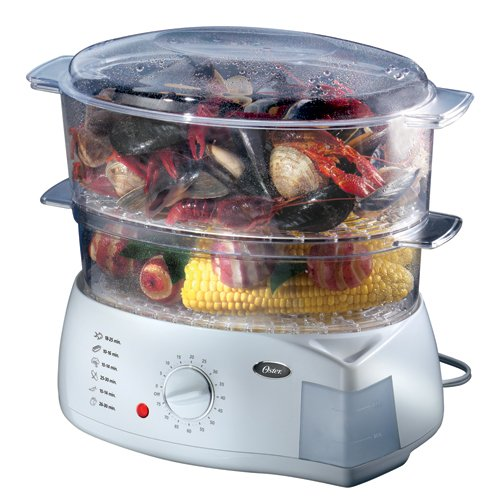 Oster double tiered food steamer 5713 home garden for Jarden consumer solutions