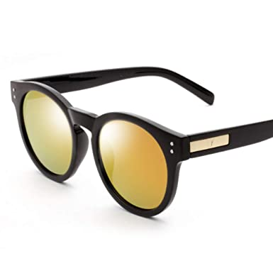 parzinkk Gafas De Sol Gafas De Sol Retro Cara Redonda Para ...
