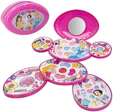 Set maquillaje infantil niñas Completo Maletin Maquillaje Princesas Disney Juego maquillaje niñas niños 5 años Set maquillaje niña Pintauñas Manicura juguete Regalos para niñas: Amazon.es: Juguetes y juegos