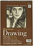 Strathmore STR-400-4 24 Sheet No.80 Drawing Pad, 9 by 12""