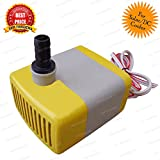 TRP TRADERS DC 12 Volt Power Submersible Pump for Desert Air Cooler, Aquarium Water Pump, Fountain, DIY Project, 12V DC Pump, Water Submersible Pump