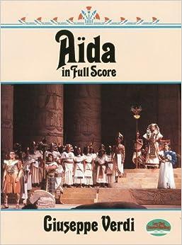 ヴェルディ: オペラ 「アイーダ」/ドーヴァー社全曲版/大型スコア