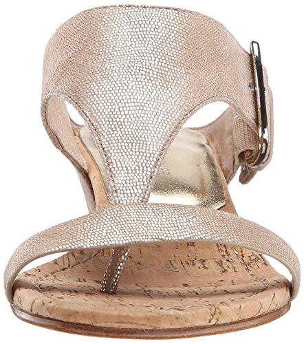 Metallic Women's Print Donald Lizard Doli2 Sandal J Pliner Wedge Platino Rcq7E0ca