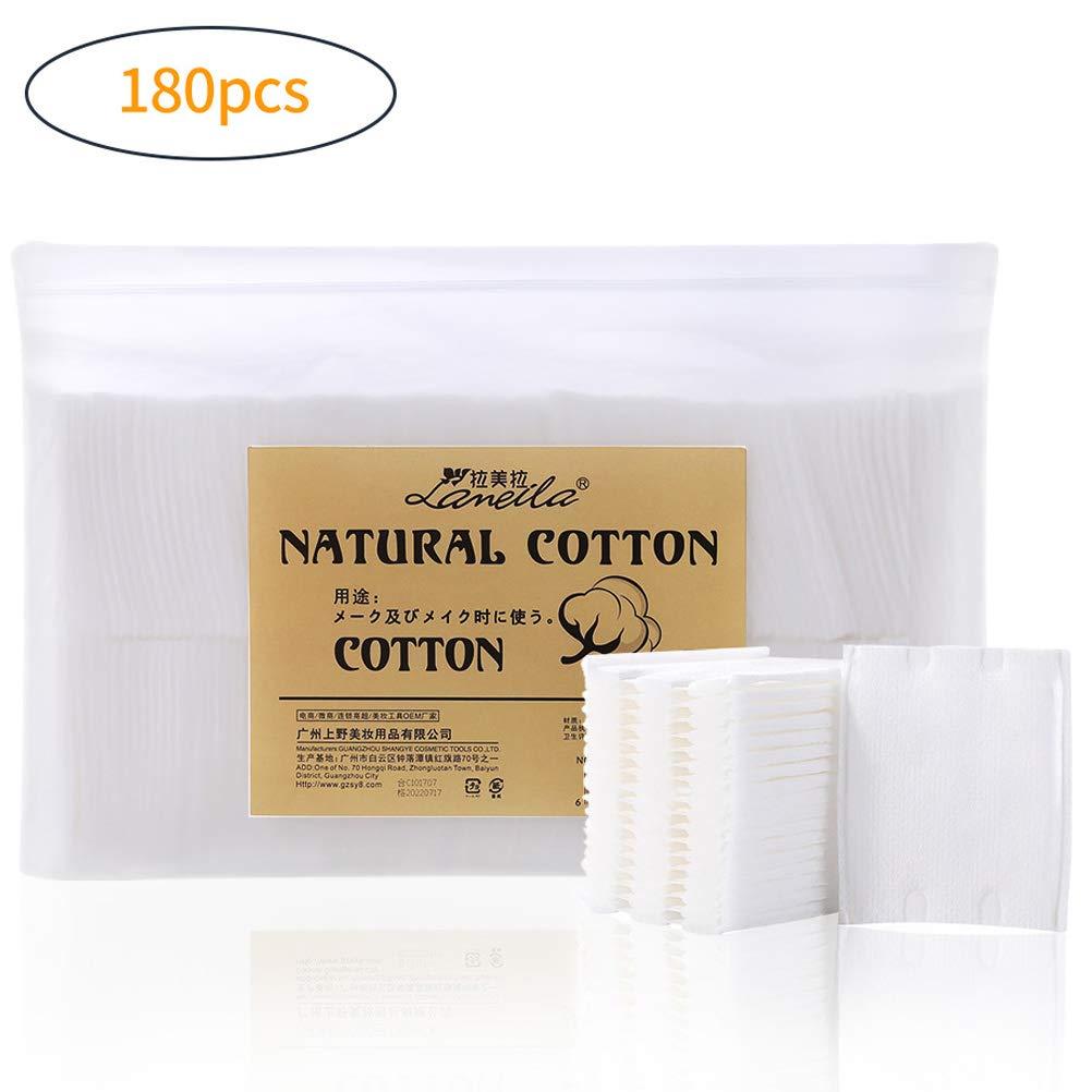 Lameila Baby Cotton Pads (60x 50) makeup Remover Pads–Confezione di 180pastiglie