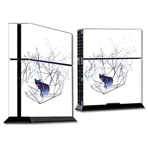 MightySkins Skin Compatible with Sony PS4 Console - Organic Prison | Protective, Durable, and Unique Vinyl Decal wrap Cover | Easy to Apply, Remove, and Change Styles | Made in The USA