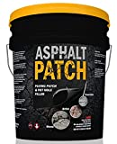 ASPHALT PATCH & POTHOLE FILLER 65 lb Pail | Pothole Repair Kit |