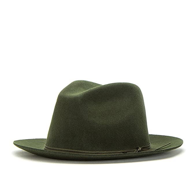 0032086a96bf4 Sombrero Fedora Graham de Brixton - Musgo  Amazon.es  Ropa y accesorios