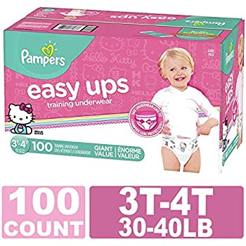 799a4054d792 Pampers Easy Ups Training Pants Pull On Disposable Diapers for Girls