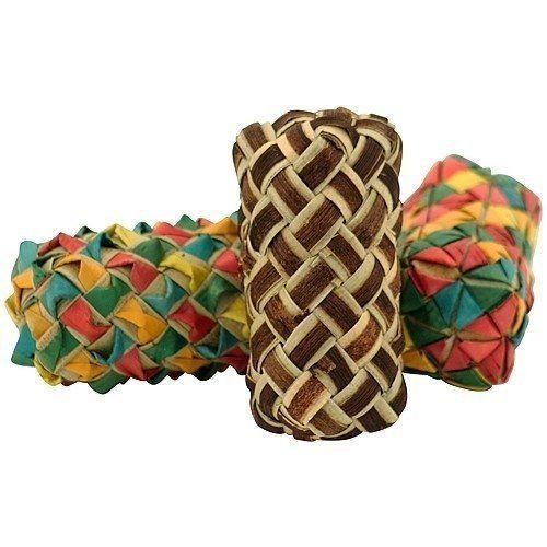 Talon Cylinder - 03318 3-Pack Woven Cylinder Foot Toys Foraging Craft Part Talon Cage Chewy Shred