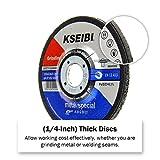 KSEIBI 641006 4-1/2-Inch by 1/4-Inch Metal
