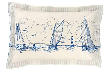 Home, Furniture & DIY Bedding NEW JOULES SAILING BOAT PILLOWCASE