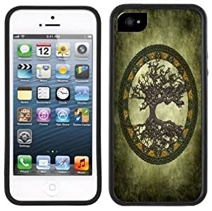 Celtic Tree of Life Handmade iPhone 5C Black Case
