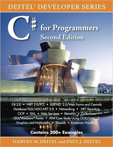 Amazon com: C# for Programmers eBook: Harvey Deitel, Paul J