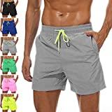 YnimioAOX Men's Trunks Quick Dry Shorts Gym...