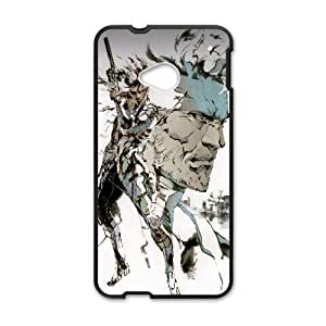 HTC One M7 Phone Case Black Snake Metal Gear Solid Game WE9TY653539
