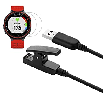 Charger Charging Cable Clip for Forerunner 235 735XT Compatible with Garmin Forerunner 235 35 630 645 230 735XT: Amazon.es: Industria, empresas y ciencia