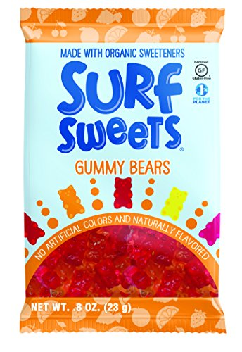 Surf Sweets Gummy Bears, 0.8-Ounce Bags (Pack of 24)