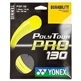 Yonex Poly Tour Pro 16 130 - Raqueta de tenis, color amarillo