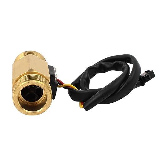 eDealMax G3 / 4 de rosca del sensor de flujo de agua del control del interruptor Meter Caudalímetro 2-60L / min - - Amazon.com