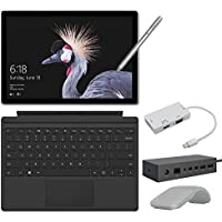 2017 New Surface Pro Bundle ( 6 Items ): Core i7 16GB 512GB Tablet, Surface Dock, Surface Type Cover Black (2016), Surface Pen Silver, Surface Arc Mouse Light Grey, Mini DisplayPort Adaptor