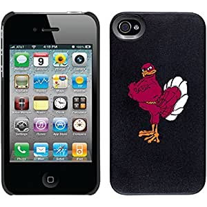 iphone covers Virginia Tech - Mascot design on Black iPhone 6 plus / 4 Thinshield Snap-On Case