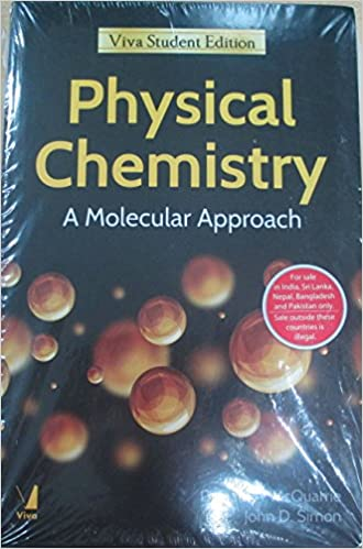 Physical chemistry a molecular approach international edition physical chemistry a molecular approach international edition john d simon donald a mcquarrie amazon books fandeluxe Choice Image