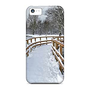 Cases For Iphone 5c With Snow City Park