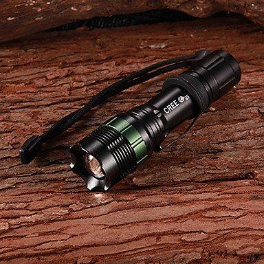 Cree Q3 270LM 3-Mode White Light Zoom Focus Adjustable LED Flashlight(1x18650)