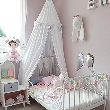 Baldaquin Rideaux de Lit pour B/éb/é Rose DOTBUY Moustiquaire pour Chambre /à Coucher Fille Garcon Tente de Jeu Moustiquaire Salle de Lecture Decoration Enfant et Adulte