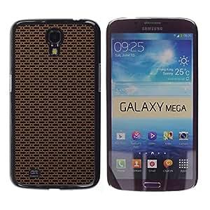 Paccase / SLIM PC / Aliminium Casa Carcasa Funda Case Cover - Texture Simple - Samsung Galaxy Mega 6.3 I9200 SGH-i527