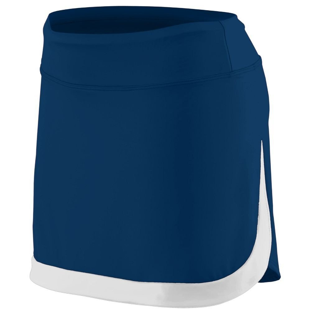 Augusta Sportswear Women'S Action Color Block Skort 2Xl Navy/White