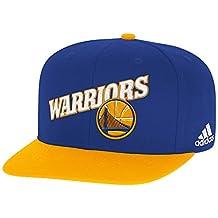Golden State Warriors Adidas Team Flat Brim Snapback Hat