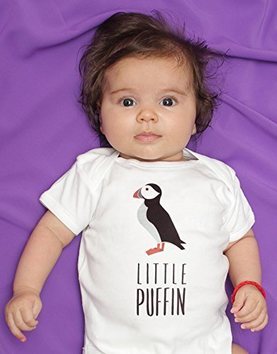 c8249f2f7 Little Puffin Boy Girl Baby Bodysuit Romper Long Short Sleeve Sizes ...