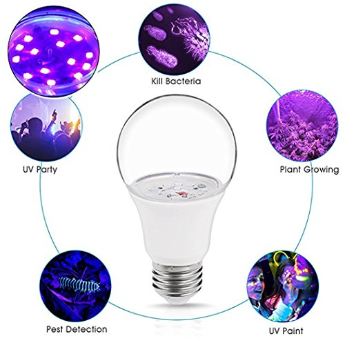 Black Light Led Light Bulb