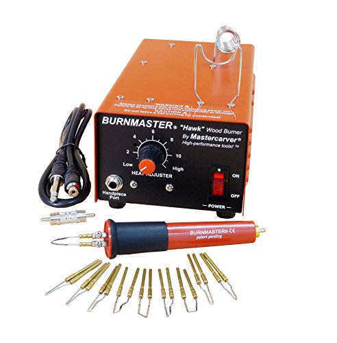 Burnmaster HAWK single port woodburner PACKAGE - burner + pen + tips (110V) ()